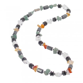 Mixed Chips & Haematite Necklace