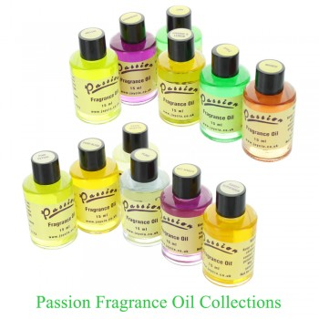 Passion Fragrance Oil 15ml Collection ( 6 x 15ml oils)