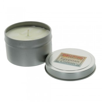 Wild Berry Candle In Tin - Egyptian Cotton