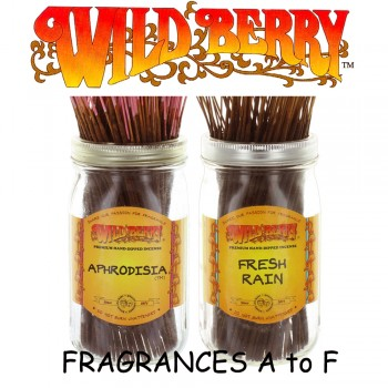 Wild Berry Incense Sticks (Pack of 10) - Fragrances A to F