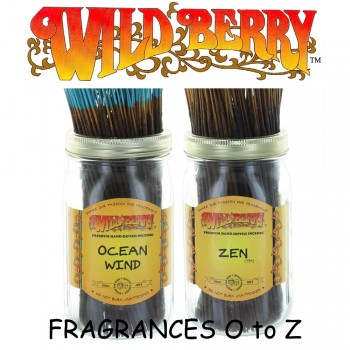 Wild Berry Incense Sticks (Pack of 10) - Fragrances O to Z