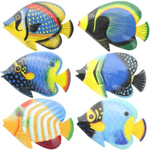 Large Brightly Painted Fish With Glossy Finish