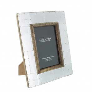Wooden Picture Frame with Metal - Small
