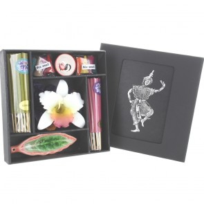 Incense Stick, Cone and Candle Set - Design 1
