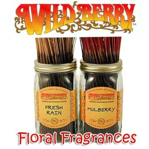 Wild Berry Incense Sticks Mixed Floral Pack