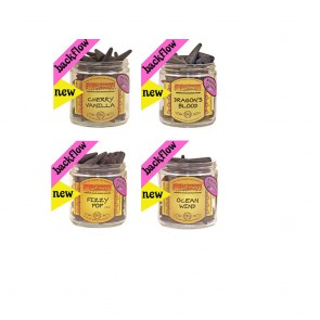 Wild Berry Backflow Incense Cones Pack of 10