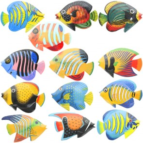 Medium Brightly Painted Fish With Glossy Finish