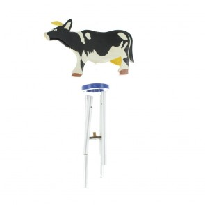 Black And White Cow Chimes
