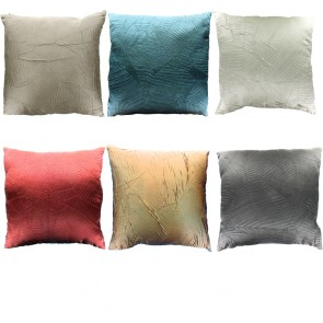 Silky Leaf Textured Cushion