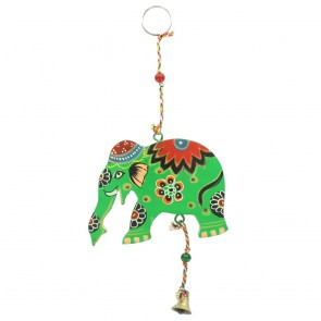Wooden Hanging Elephant