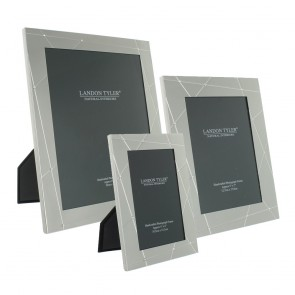Silver Lines Jewelled Frame