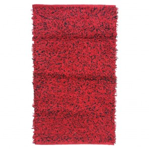 Red And Black Cotton Rug