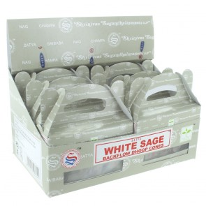 Nag Champa White Sage Backflow Dhoop Cones