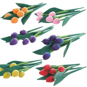 Tiny Tulips Pack of 5
