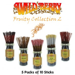 Wild Berry Incense Collection (5 packs of 10) - Fruity 2