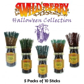 Wild Berry Incense Collection (5 packs of 10) - Halloween