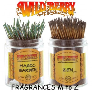 Wild Berry Incense Sticks Shorties (Pack 20) - Fragrances M to Z