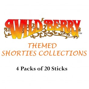 Wild Berry Shorties Incense Collection (4 packs of 20)